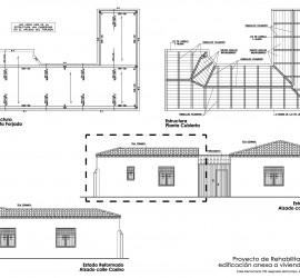 Rehabilitación edificio anexo estudio arquitectura Torrejón