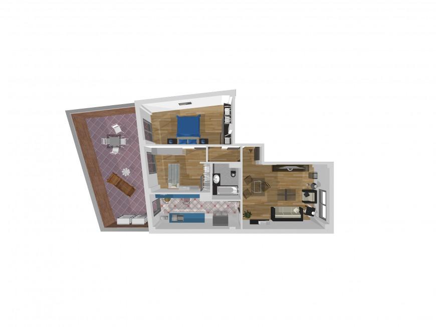 Edificio de 3 viviendas